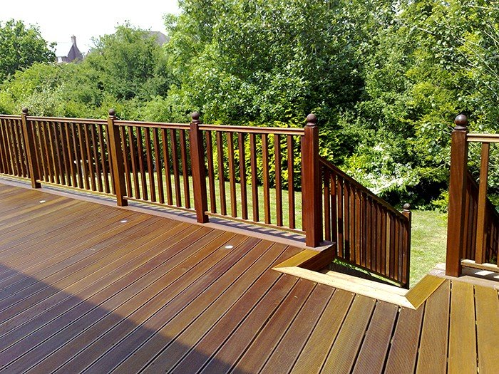 exterior wood floors decking rolam On exterior timber decking